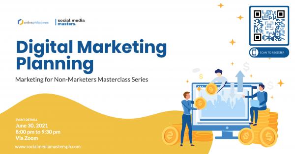 Web1 Digital Marketing Planning Masterclass Cover
